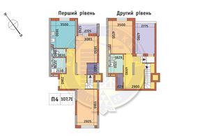 Продается 3-комнатная квартира 107.71 кв. м в Киеве