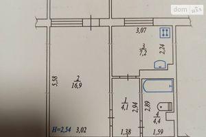 Продается 1-комнатная квартира 34 кв. м в Казатине