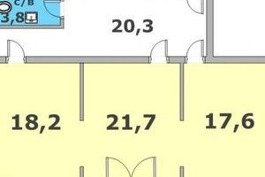 Продается помещения свободного назначения 82 кв. м в 4-этажном здании